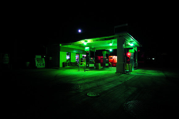 New Hudson Gas Station